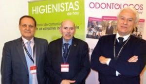 Fernando Gutiérrez, L. Giner y Francisco García.