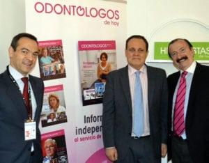 G. Pradies, Fernando Gutiérrez y Jaime Gil.