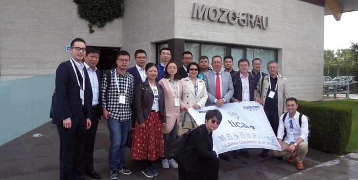 Doctores chinos en la sede de Mozo Grau.