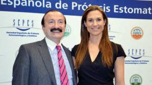 Jaime A. Gil y Ana Mellado.