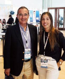 Prof. Ustrell y Carlota Rey - Joly.