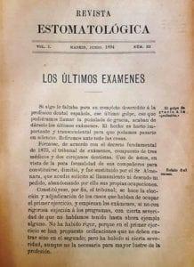 Revista estomatológica.