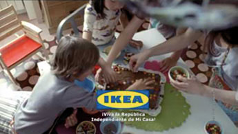 Imagen publicitaria de IKea.