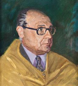 Pedro García Gras, primer director de la Escuela de Estomatología.