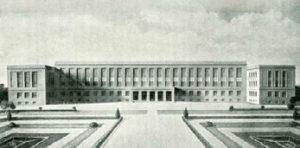 Proyecto definitivo (1930).