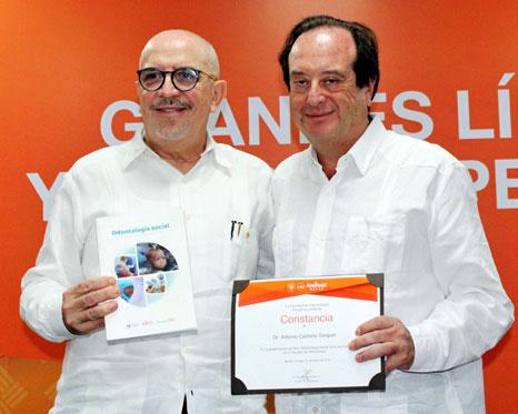 Rolando Peniche y Antonio Castaño.