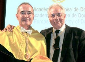 Ustrell y Pedro Clarós, vicepresidente de la RAED.