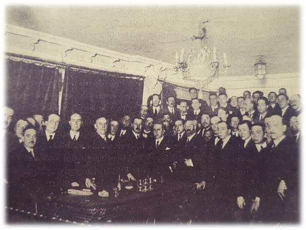 Asamblea de Subinspectores de Odontología, 22 de febrero de 1925.