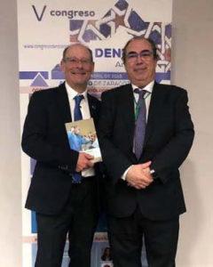 El Dr. Labarta y el Dr. Rasal presentación del libro EN BOCA DE TODOS