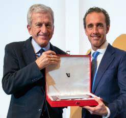 Premio Ciencias y Humanidades COEM a Cáritas Española. Recogió el presidente de Cáritas Española, Manuel Bretón Romero.
